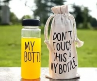 """Оригинальная бутылка """"My Bottle"""" с чехлом мешочком"""