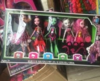 Кукла монстер хай 5 в 1